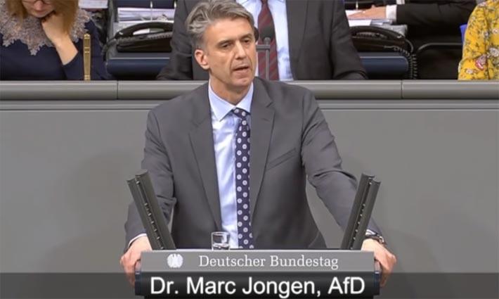 Der Bundestagsabgeordnete Dr. Marc Jongen