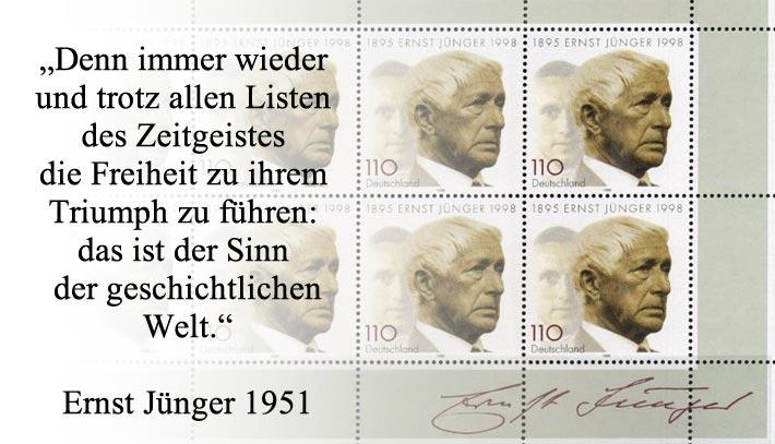 Ernst Jünger (1895 - 1998)