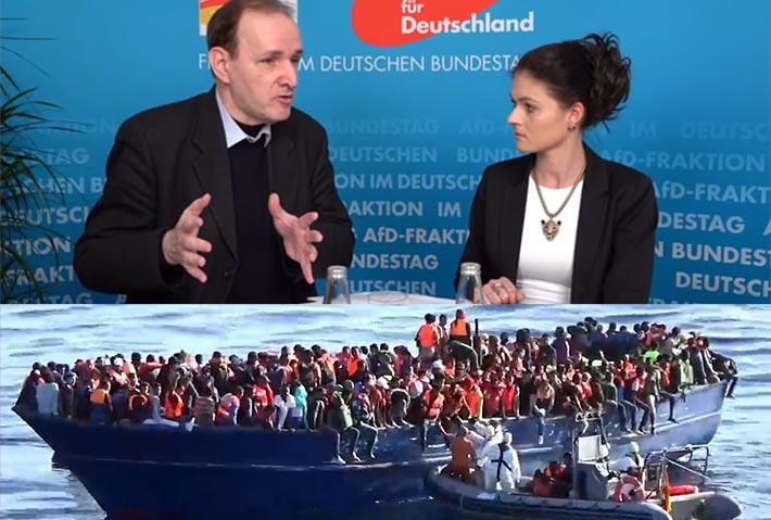 Die AfD verlangt die Offenlegung der Migrationskosten.