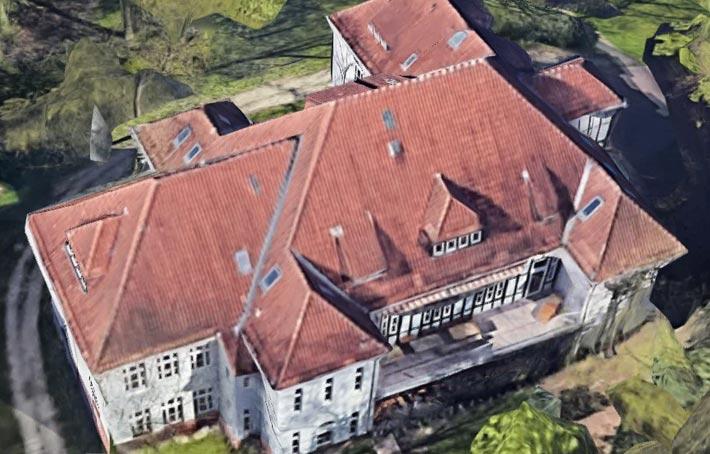 In diesem ungenutzten Haus könnte die Zwangs-Quarantänestation eingerichtet werden.